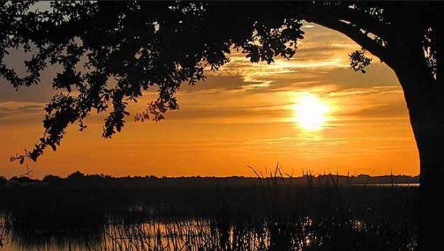 st cloud lakefront sunset